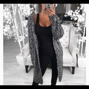 RP thick chunky cardigan